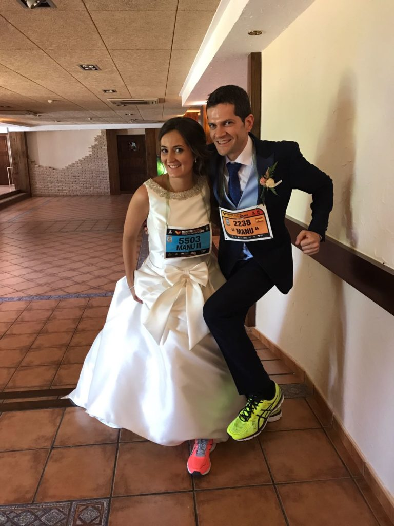 una boda a la carrera