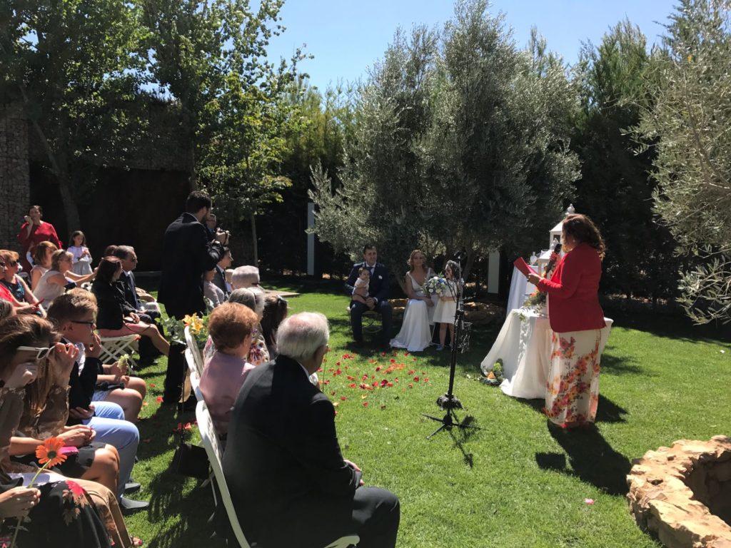 Una boda muy familiar