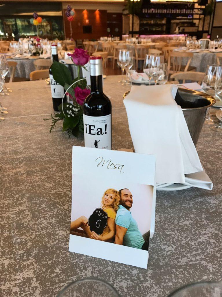 Una boda muy personal