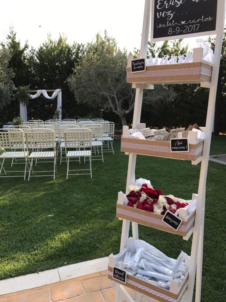 Una boda íntima y diferente