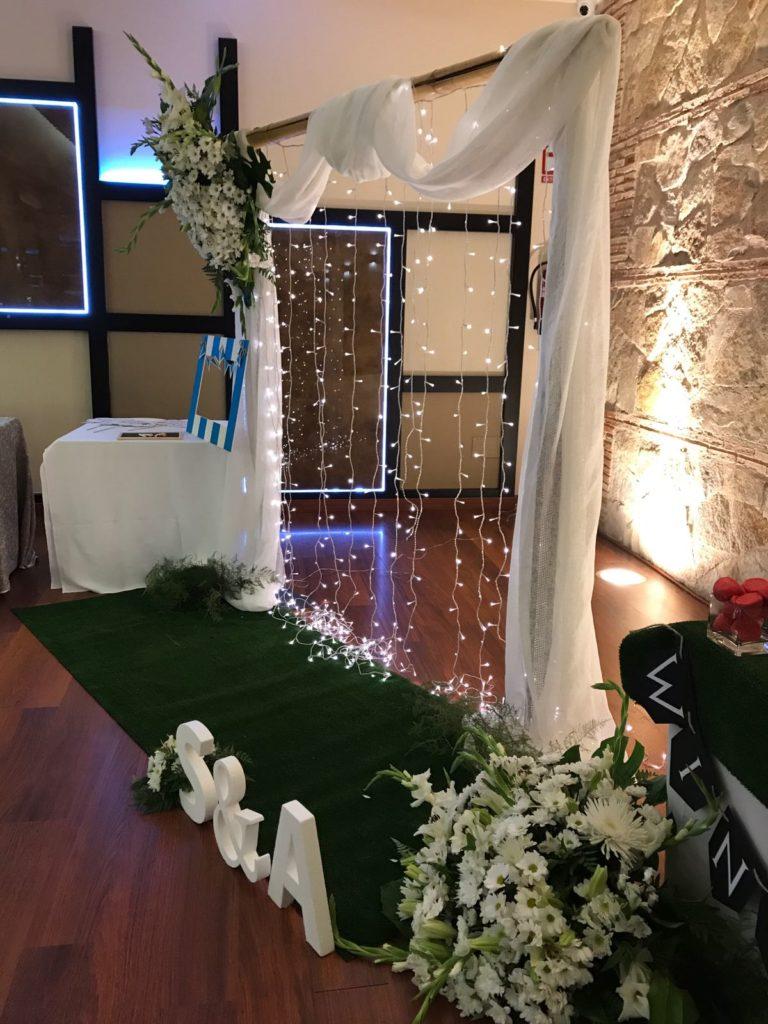 Una boda muy cuidada