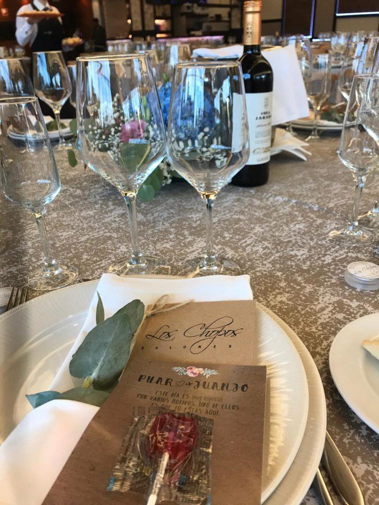 una boda con sorpresa minuta