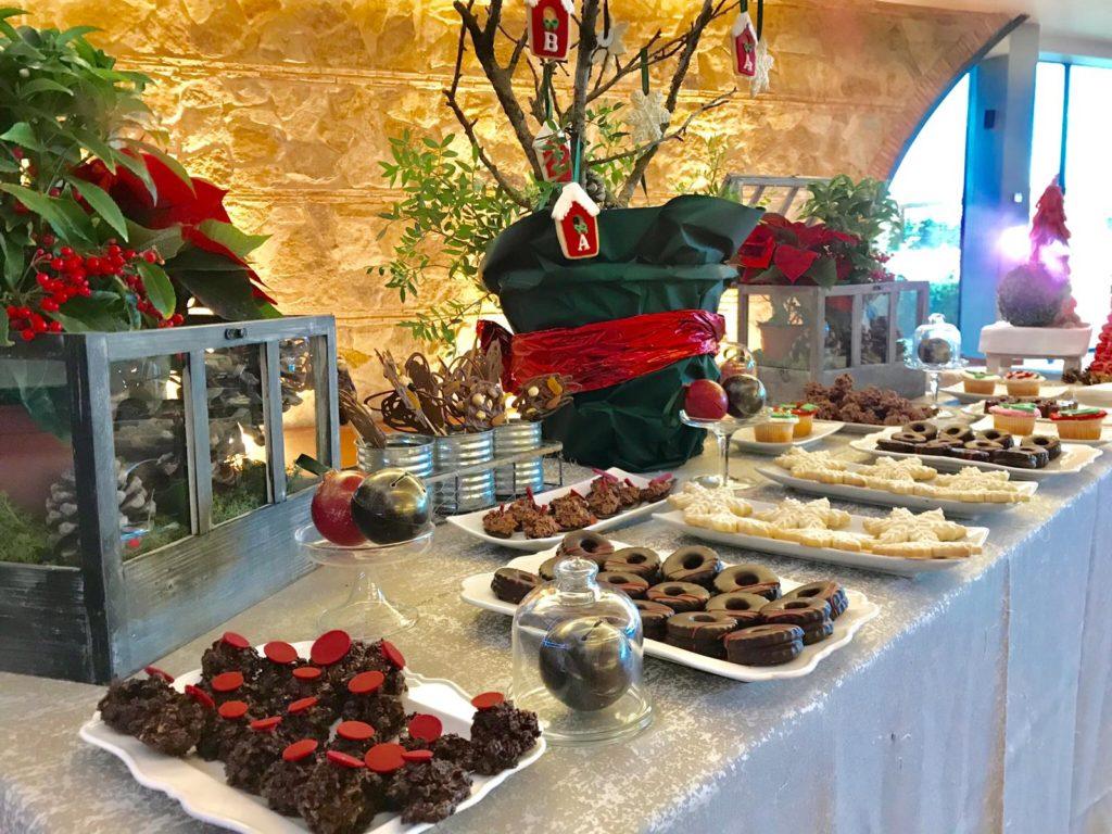 una boda muy navideña detalle dulces