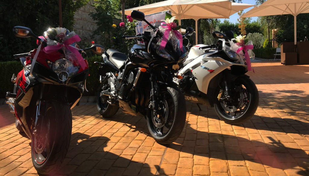 caballos de amor motos