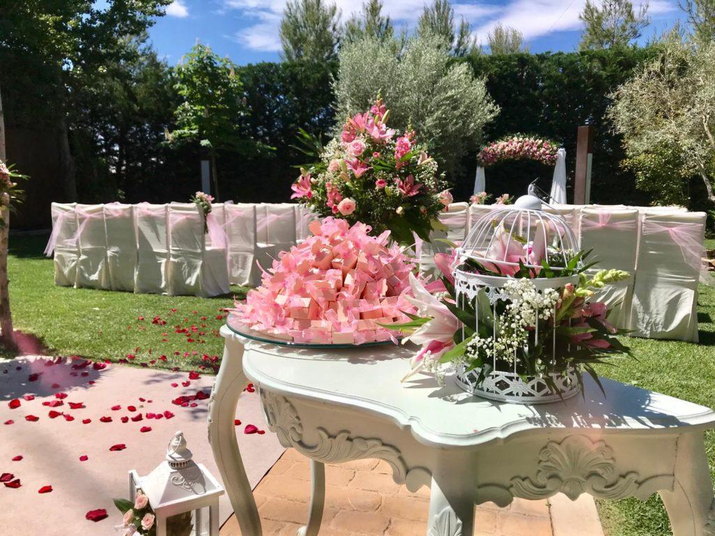amor en la boda altar