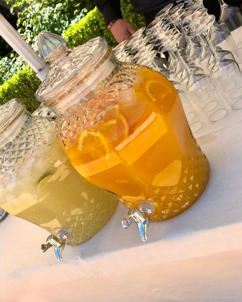 amor en la boda naranjada