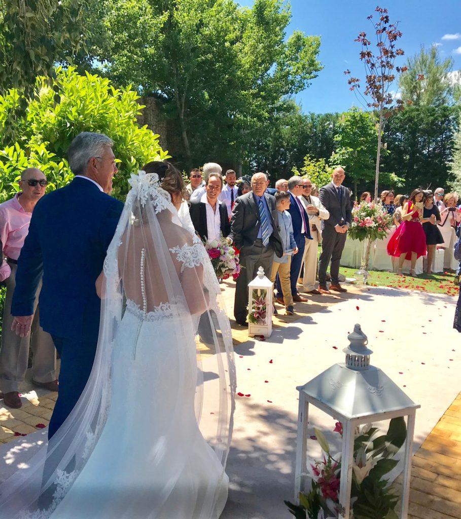 amor en la boda novia