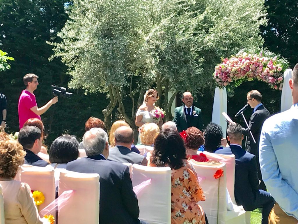 amor en la boda detalle ceremonia