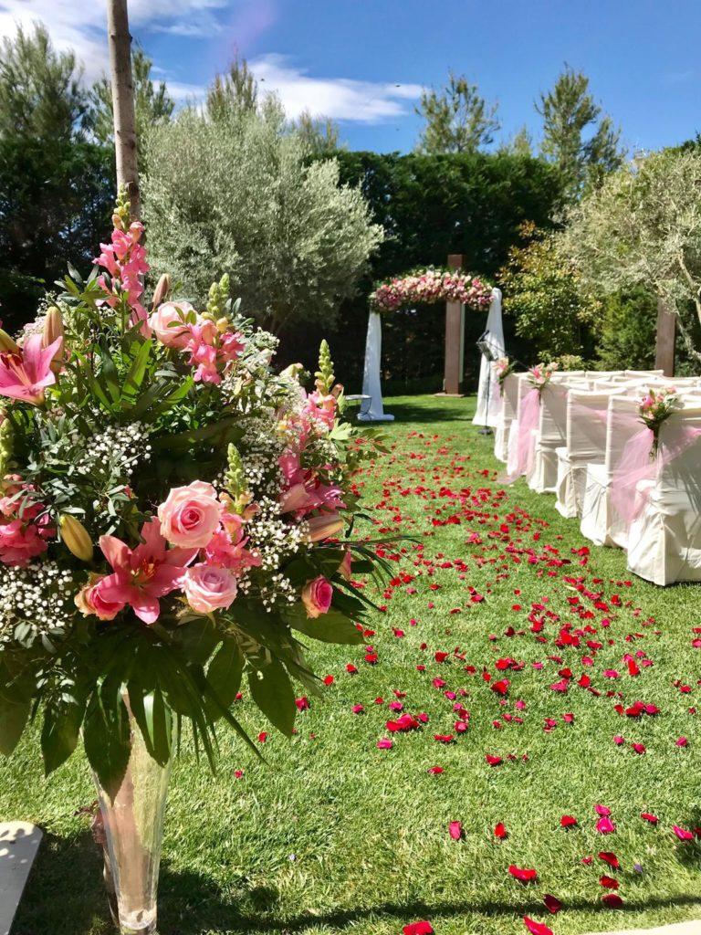 amor en la boda detalle